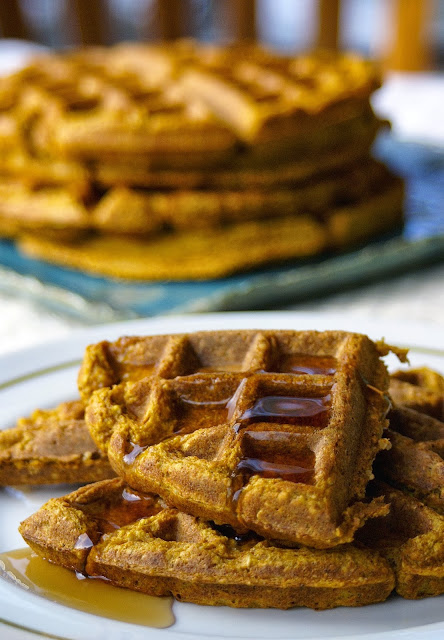 side chef pumpkin pie waffles