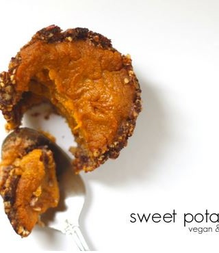 Vegan and Gluten Free Sweet Potato Pie recipe