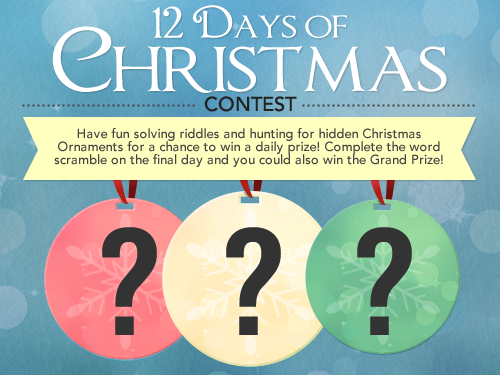 personalization mall 12 days of riddles
