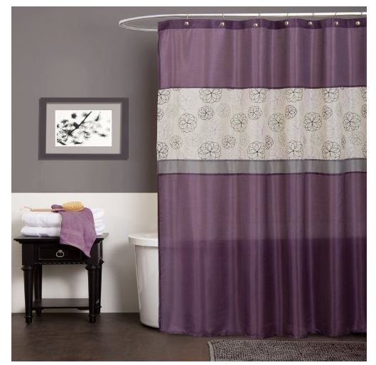 lush shower curtain