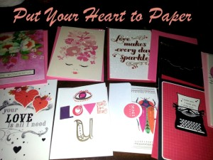 Tips and ideas to help you put your heart to paper and out there for those you love