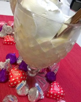 Snickers Smooch drink recipe featuring Baileys Salted Caramel Irish Creme