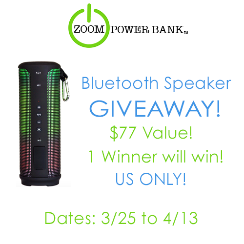 bluetooth speaker giveaway