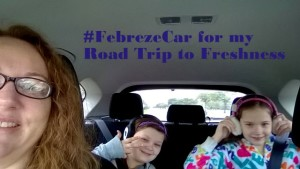 Febreze Car freshens up my spring break road trip! $25 Walmart gift card giveaway