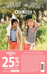 #ImagineSpring: Top 10 Reasons to shop at OshKosh B'gosh