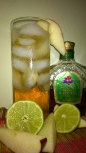 Crown Royal Regal Apple: Ginger Appletini recipe