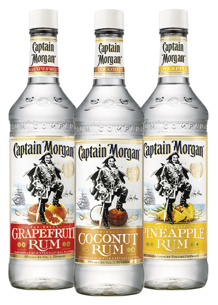 Captain Morgan's White Flavored Rum