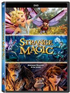 Family movie night! Strange Magic DVD giveaway