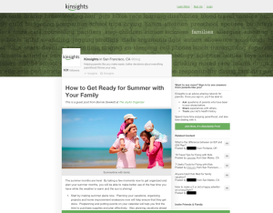 Get parenting insights from Kinsights and a $100 Amazon Gift Card giveaway