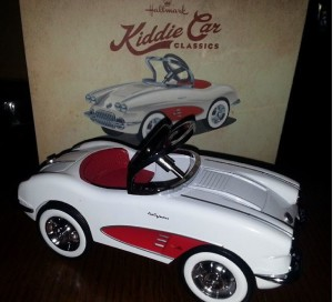 Hallmark Kiddie Car Classic review and Ornament giveaway (ends June 24, 2015)