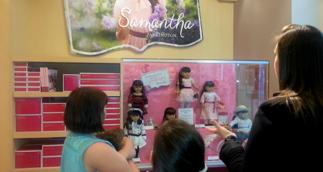 An all American Girl party, shopping and dining experience @AmericanGirl #GoHouston