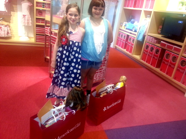 American Girl Shopping