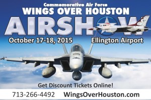 Fly high with the Wings Over Houston Airshow 2015 giveaway #WOHAirshow