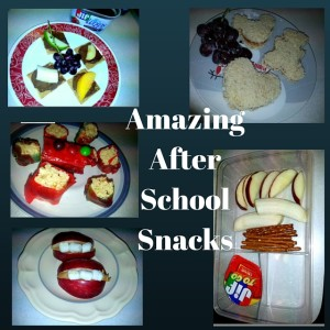 Six super snacks for after school