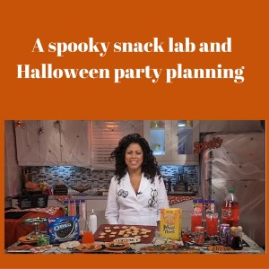 Halloween party planning, recipes and spooky snack lab