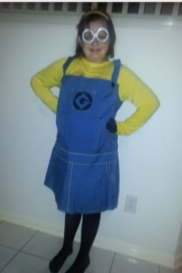 Despicable Me Costumes: My little Minion at work