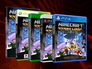 Putting the MINE in Minecraft Story Mode #minecraft