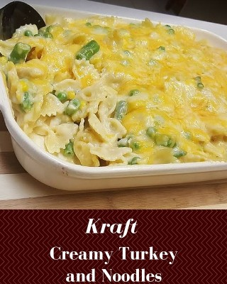 Creamy Turkey and Noodles: Kraft recipes making every day delicious