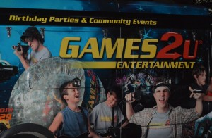 Games2U brings a truck full of video gaming fun and more to you