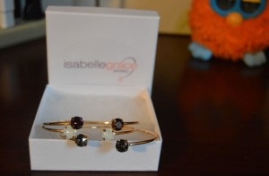 Super special gift idea: Isabelle Grace Swarovski Stackable Bangles