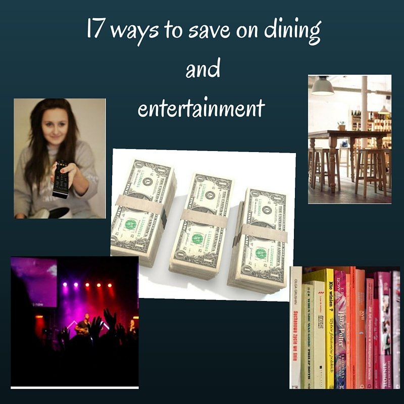 save on dining and entertainment
