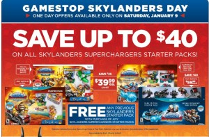 Skylanders Day! BOGO at GameStop