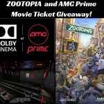 Zootopia and Dolby Cinema AMC Prime Movie Ticket Giveaway for Houston!