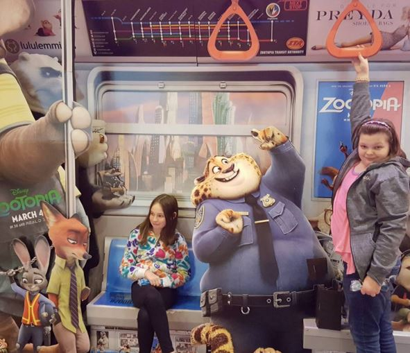 all aboard for Zootopia