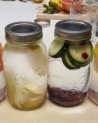 Our family favorite fruit infused water recipes