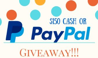 Bringing sunshine your way with a $150 PayPal or Cash Giveaway