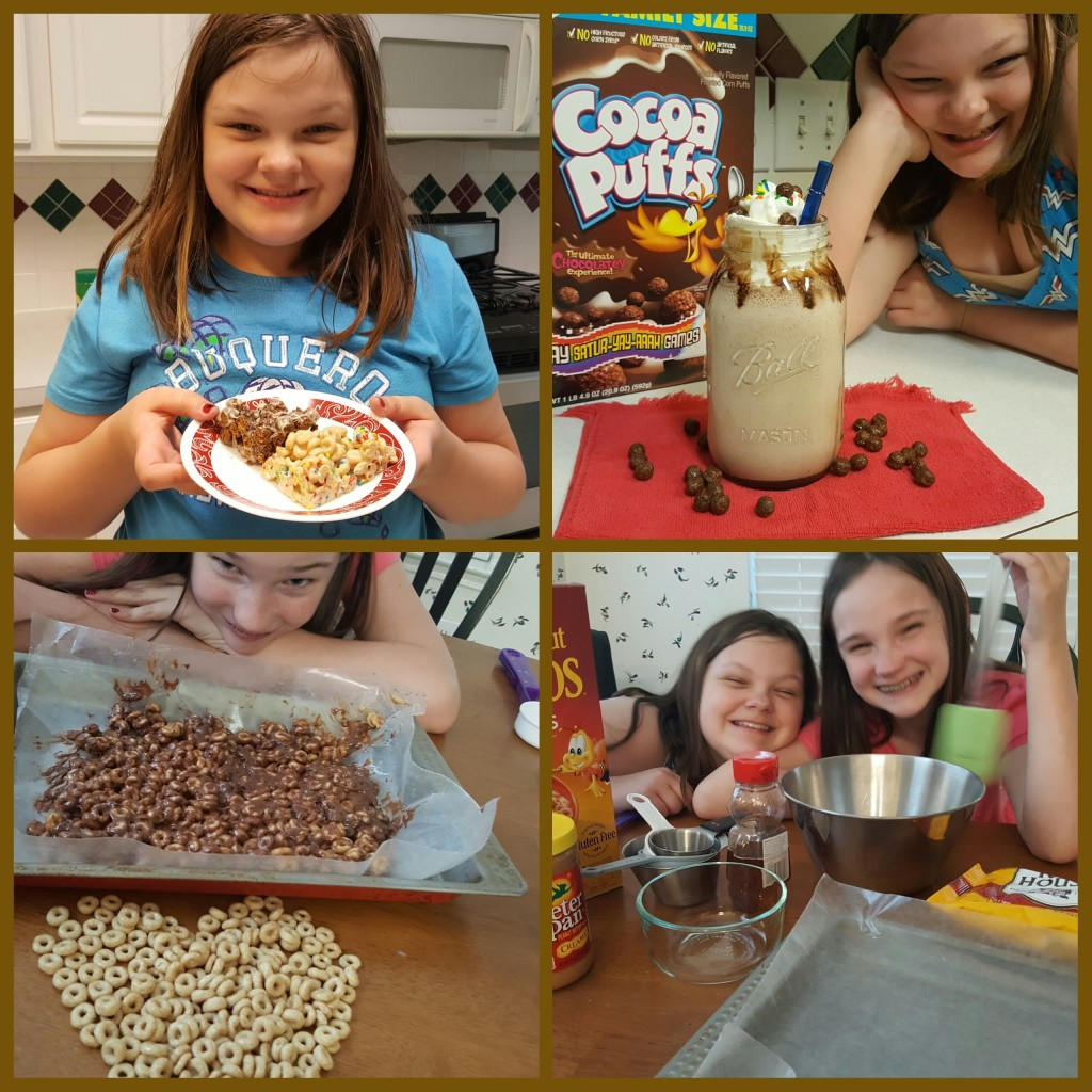 4 snacks and shakes for kids to make