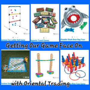 Getting our game face on: Great outdoor games to play #SummerFun