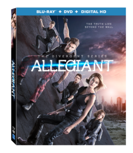 The Divergent Series: Allegiant now on Blu-Ray and DVD @Divergent