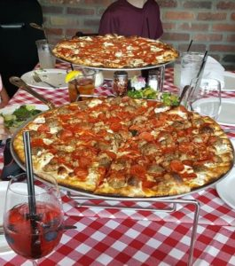 Great food and family style dining at Grimaldi's #GoHouston @GrimaldisPizza