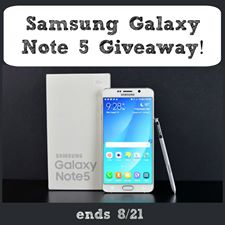 Is My Child Ready for a Cell Phone? Samsung Galaxy Note 5 Giveaway