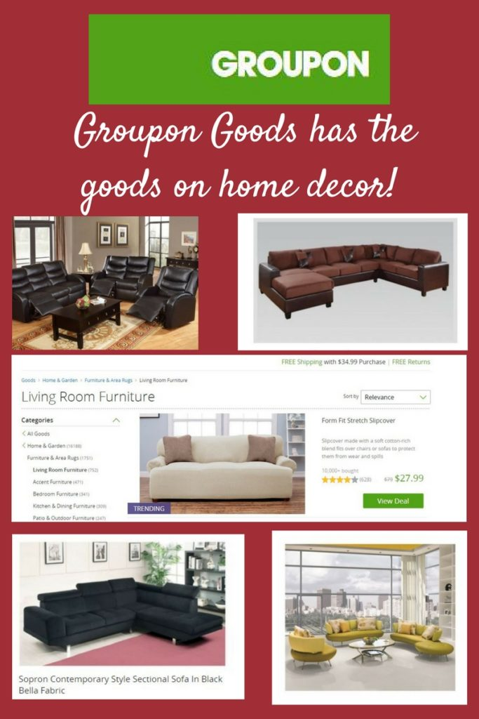 Groupon Goods Has The On Living Room Furniture And More