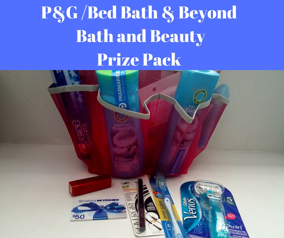 P&G Bed Bath & Beyond Bath and Beauty Prize Pack