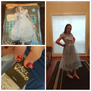 Alice in Wonderland Through the Looking Glass Halloween Costume Review