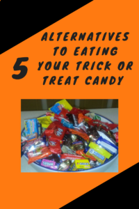 5 Alternatives to Eating Your Trick or Treat Candy