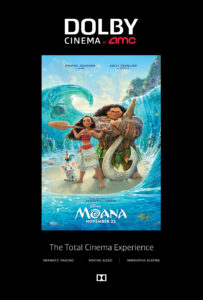 One Super Saturday One Magical Movie: Moana AMC Theatre Dolby Experience #DolbyCinema #ShareAMC #Moana