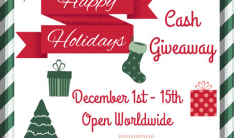 $200 Happy Holiday Cash Giveaway!
