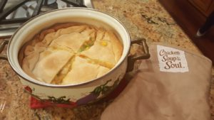 Cooking with kids: Easy Chicken Pot Pie Recipe