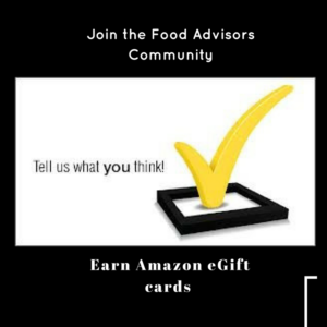 Join the Food Advisors Community: Share Your Opinion and Earn Rewards