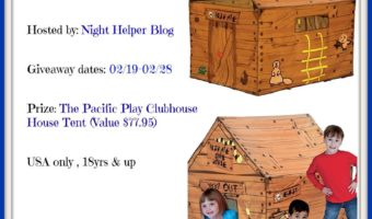 Pacific Play Clubhouse Tent Giveaway