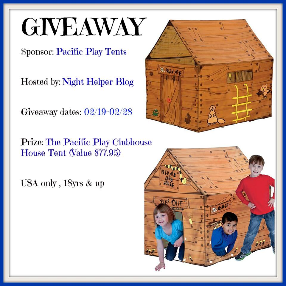 pacific play clubhouse tent