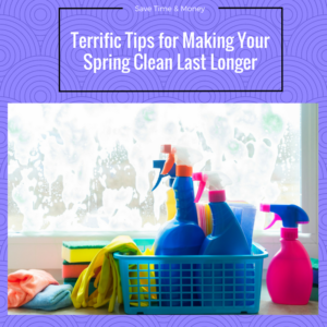 Spring Cleaning for the Long Run Saves Time and Money