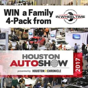 Houston Auto Show 2017 Ticket Giveaway #IWT17 #HAS17