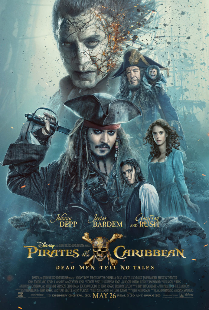 Pirates of the Caribbean Dead Men Tell No Tells