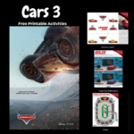 Cars3 Free Printable Activities and Sneak Peek Trailer #Cars3