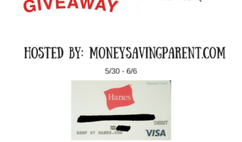 Show off Dad's Softer Side! Father's Day $50 Hanes Gift Card + Prize Pack Giveaway #HappyInHanes